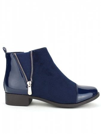 Bottines blues HEATHER