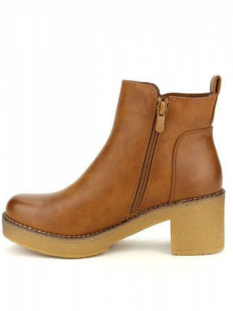 Bottines Caramels simili cuir STOMS, image 02