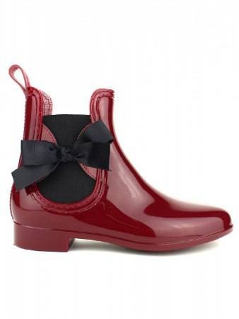 Bottine de pluie PVC LOV'IT Bordeaux color