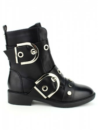 Bottine Rock Black SMIKE