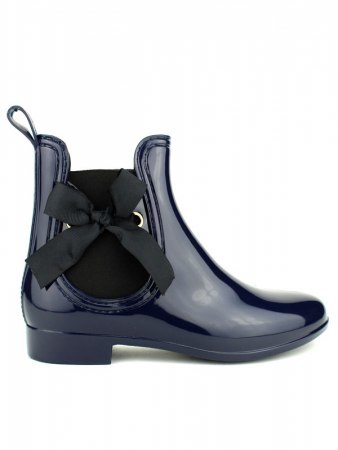 Bottine de pluie PVC LOV'IT bleu