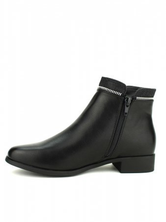 Bottine noire Zip CINKS ME, image 03