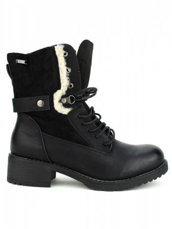 Bottines Blacks fourrées SIANIS