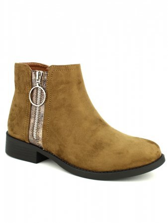 Bottine marron CINKS Simili cuir, image 02