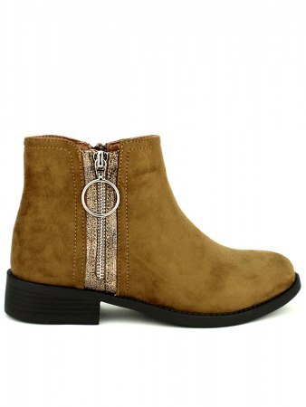 Bottine marron CINKS Simili cuir