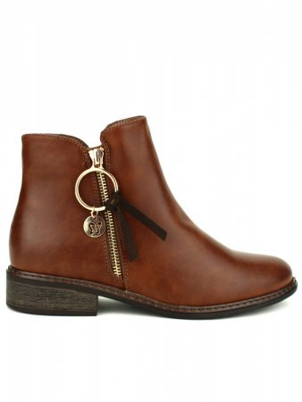 Bottines Marron Simili WEDE