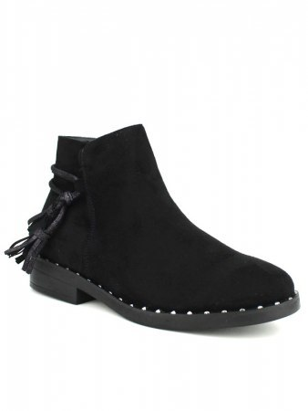 Bottines Noires SHOES ITS, image 02