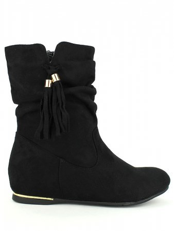 Bottines Noires PEROS MODE