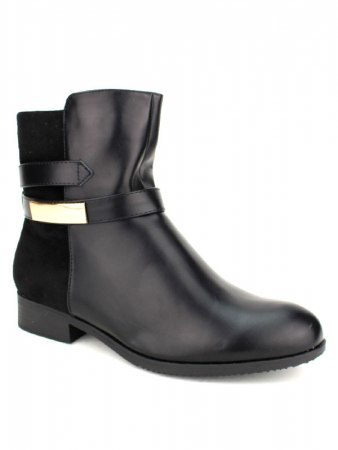 Bottines noires CINKS Simili, image 02
