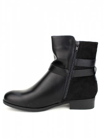Bottines noires CINKS Simili, image 03