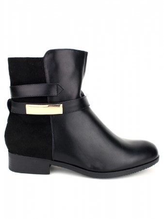 Bottines noires CINKS Simili