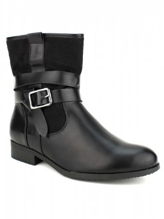 Bottine Noire CINKS Simili, image 02