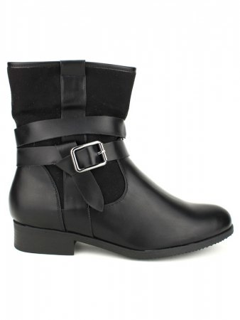 Bottine Noire CINKS Simili