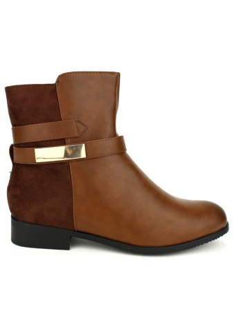 Bottine Marron CINKS Simili