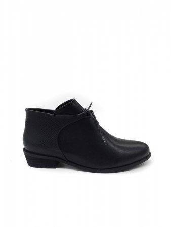 Bottines Noires simili cuir ANOUSHKA