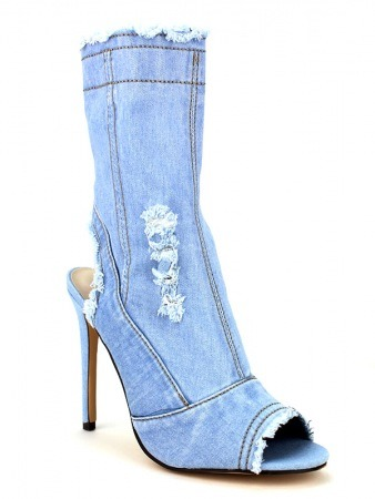 Lows Boots Jeans Blue clair BELLOS, image 02
