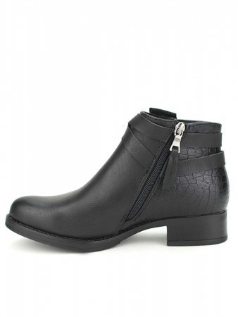 Bottines black Simili Cuir PEPERS, image 03