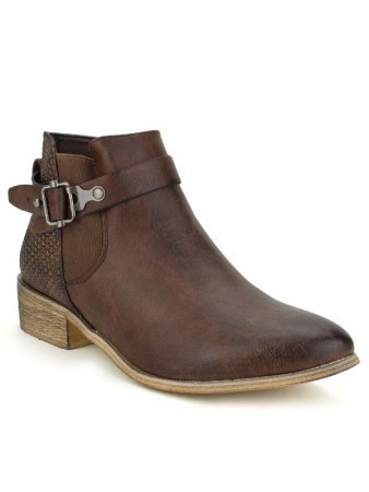 Bottines marron SPERCES MODA, image 02