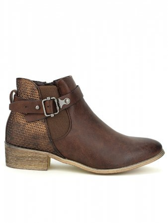 Bottines marron SPERCES MODA
