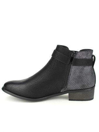 Bottines Noires SPERCES MODA, image 03