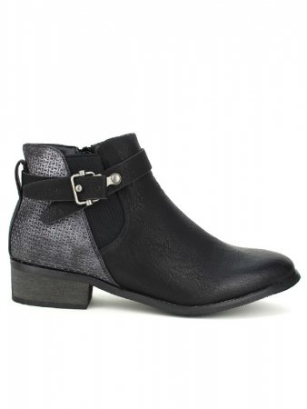 Bottines Noires SPERCES MODA