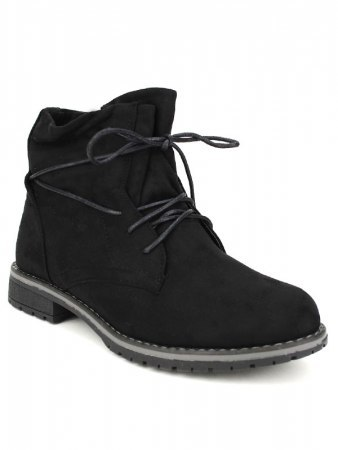 Bottines Noires Simili DENWERS , image 02