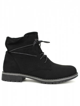 Bottines Noires Simili DENWERS