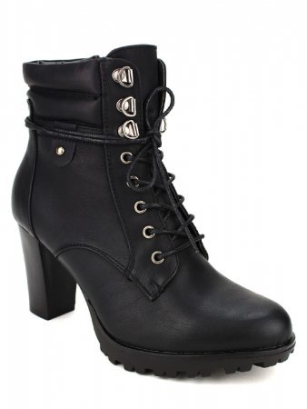 Bottines Noires GOAKIS Fashion, image 02