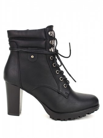 Bottines Noires GOAKIS Fashion