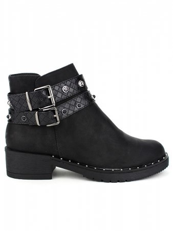 Bottine Noire simili CINKS LOOK