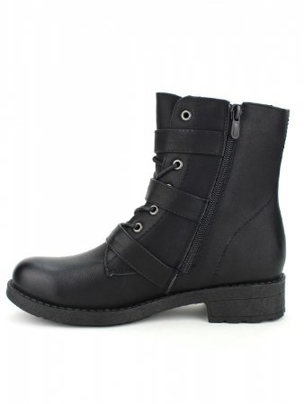 Bottines Noires MOTARDE ROCKS, image 02