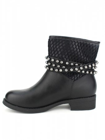 Bottines Noires BELLOS STAR, image 03