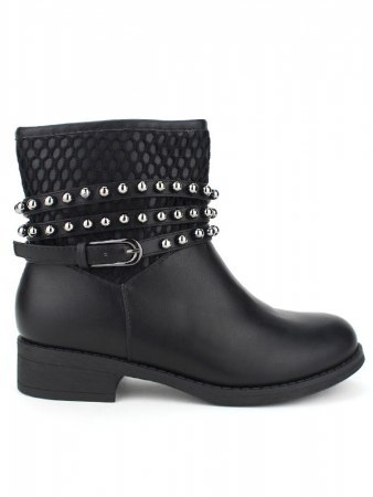 Bottines Noires BELLOS STAR