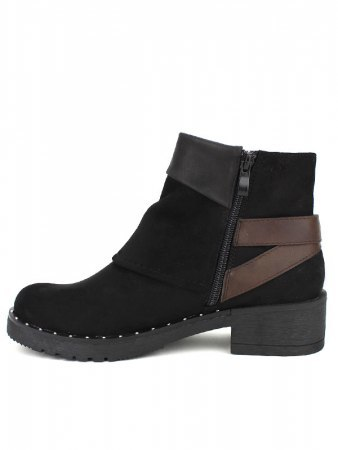 Bottines Noires CERNYS Simili peau, image 02