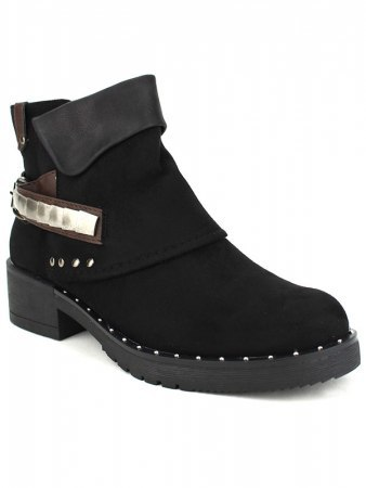 Bottines Noires CERNYS Simili peau, image 03