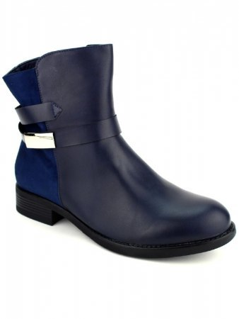 Bottines Bleues CINKS Simili, image 02
