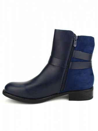 Bottines Bleues CINKS Simili, image 03