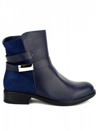 Bottines Bleues CINKS Simili