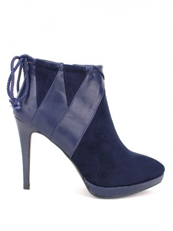 Low Boot Blue REAKEN Fashion