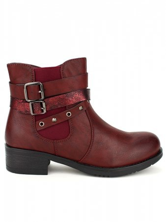 Bottines Bordeaux SIXTH SENS