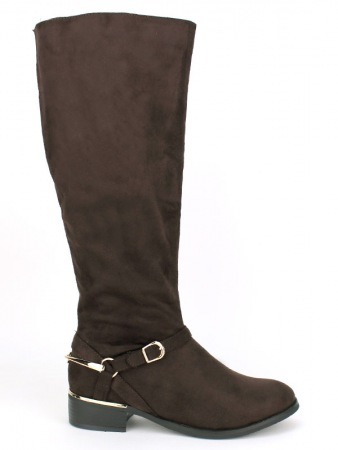 Botte Marron peau cuir STEPHANS