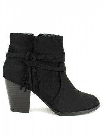 Bottines Noires PINKAI