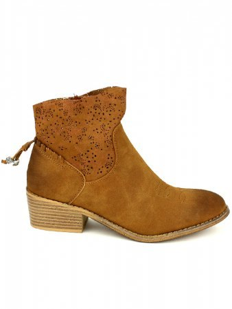Bottines Caramels Simili peau SITHEX