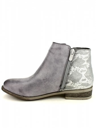 Bottines color Grey SENTHES SI, image 03