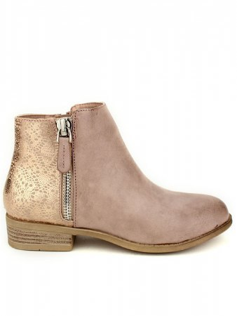 Bottines color pink SENTHES SI