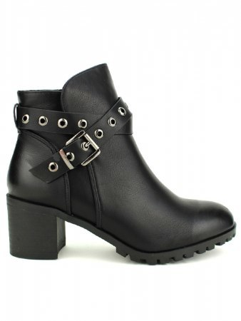 Bottines Noires ROCK'S