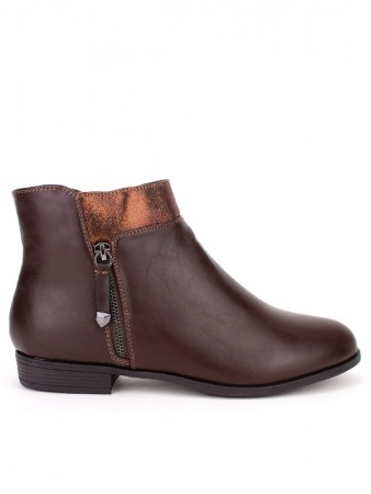 Bottine Marron Simili cuir SALINS