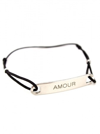 Bracelet message AMOUR