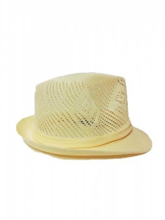 Chapeau style paille Beige INKASTYL