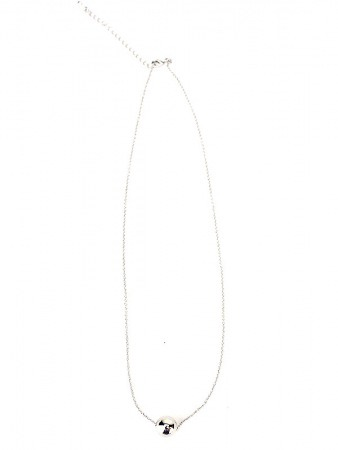 Collier PERLE Mick's argent